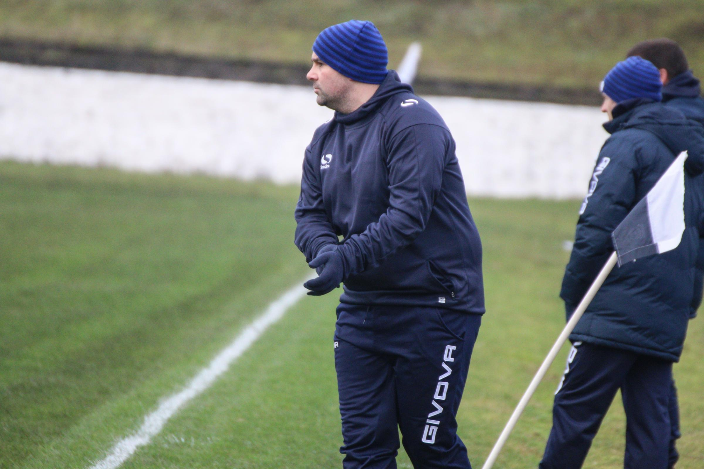 Vale boss Brian Brown was happy with performance