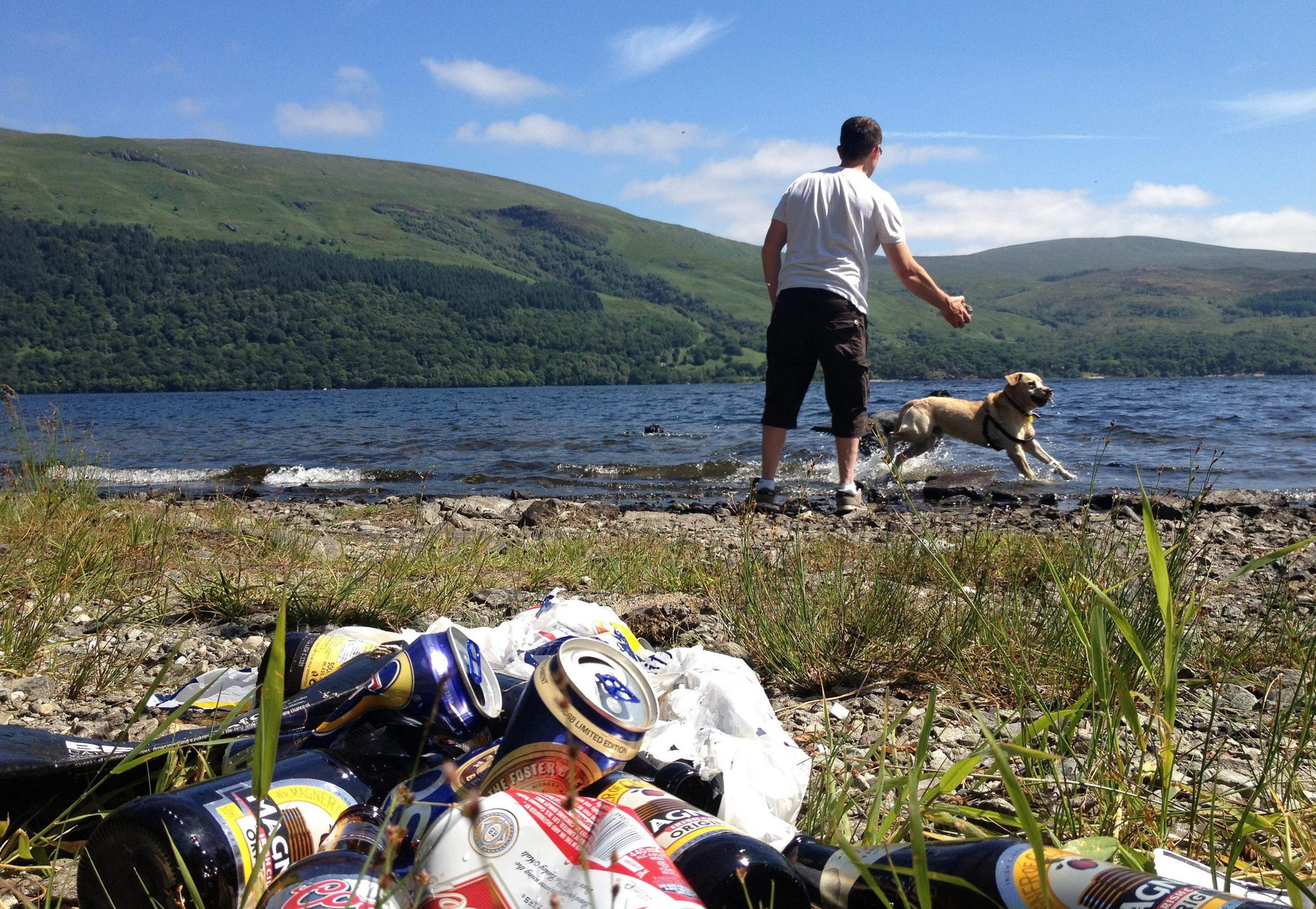 The national park has recently appointed a litter prevention manager