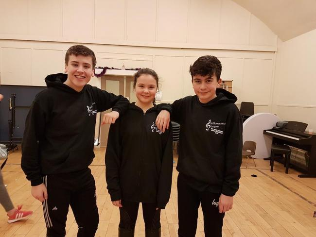 Callum, Jessica and Mark are gearing up to perform in the 5th Annual Movies to Musicals concert
