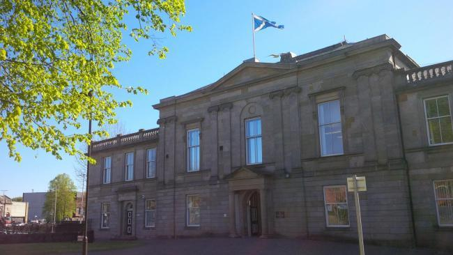 Dumbarton Sheriff Court, where Khai McLellan was spared a jail sentence on June 14