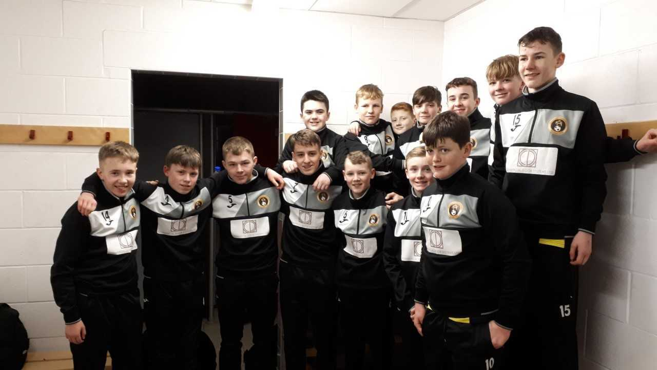A welcome return to league action for the Dumbarton United youngsters