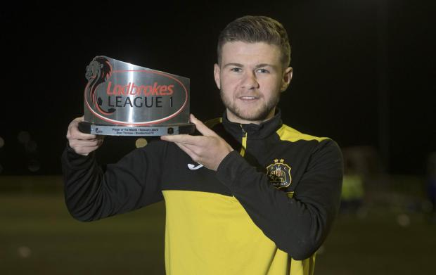 Dumbarton and Vale of Leven Reporter: On-loan Killie star Thomas has netted six times in Sons' last five matches