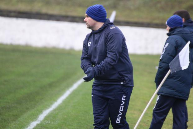 Vale boss Brian Brown not a happy man after disappointing St Anthony's loss