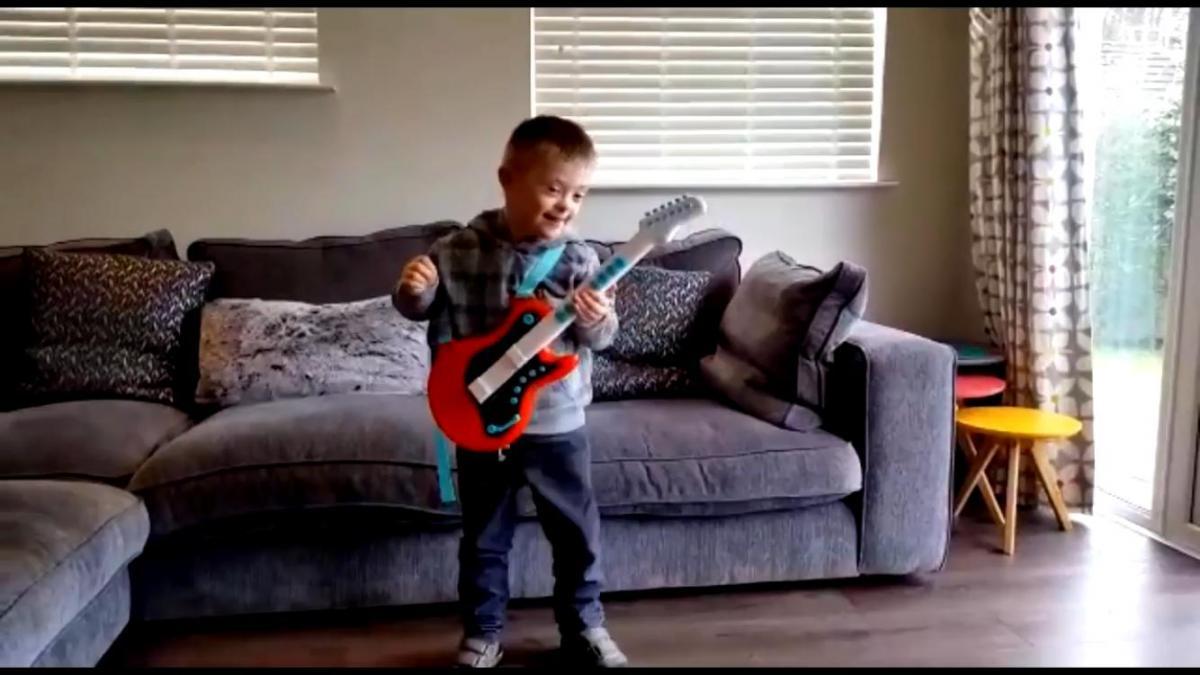 Balloch boy Ruairidh Davidson is star of Down's syndrome