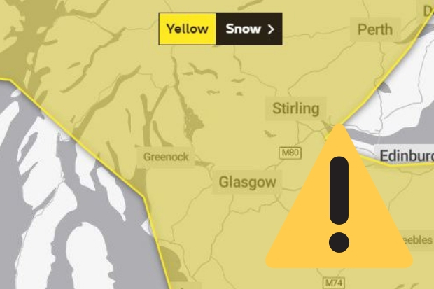 The Met Office and police have called for extra caution