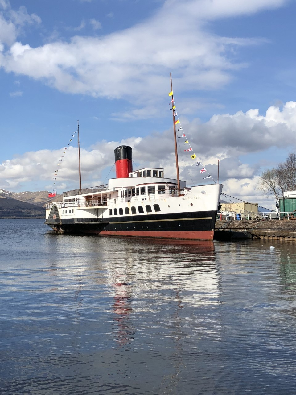 Maid of the Loch will reopen on Friday