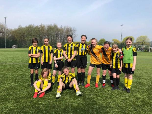 Dumbarton and Vale of Leven Reporter: Dumbarton United's U12 girls enjoyed a big win in the sun
