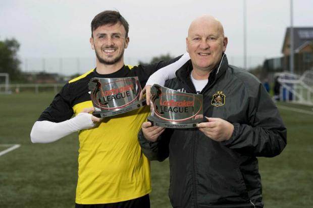 Dumbarton pair pivotal as Sons propelled themselves to league one safety in April (Photos: Fraser Wright)