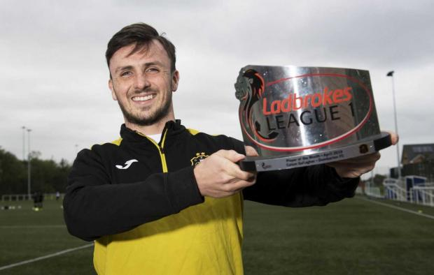 Dumbarton and Vale of Leven Reporter: Gallagher netted 13 times this season with the former Rangers man in scintillating form in April