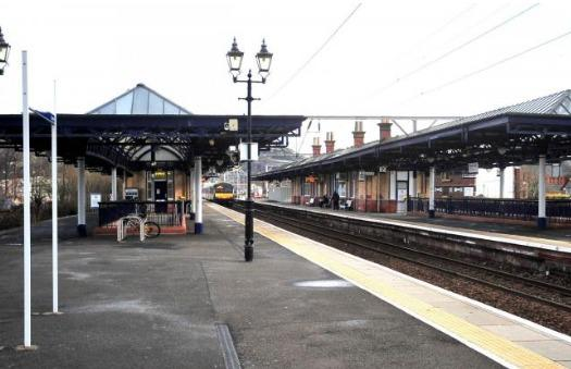 Dumbarton Central Station