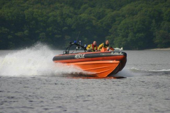 Loch Lomond rescue boat took paramedics to the island