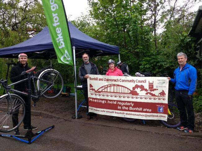 The aim of the event is to get more people out on their bikes